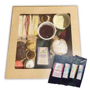 Decadence Cakes Nowra high tea set